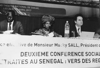 Le Groupe FINACTU est intervenu lors de la conférence nationale sénégalaise sur la retraite les 24 et 25 avril 2017.